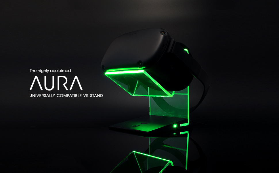 AURA Glowing universal vr stand
