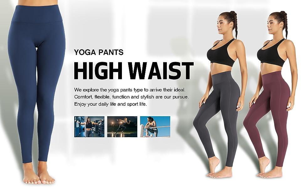 high waist workout pants
