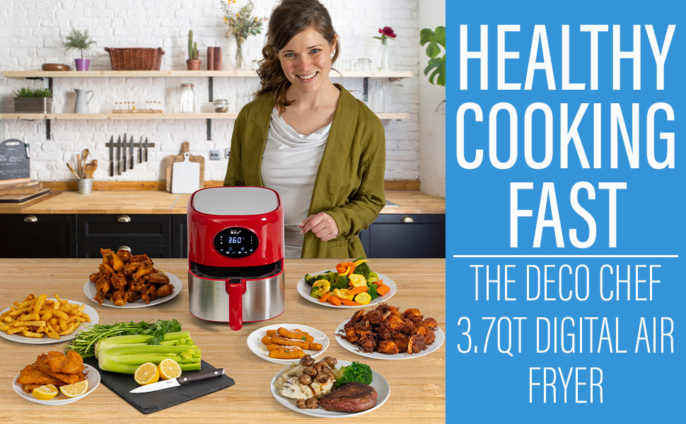 air fryer frying home cooking healthy no oil low calorie best air dehydrator 2020