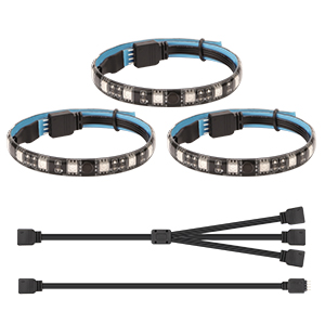 GAMING LED STRIP PARA PC CASO