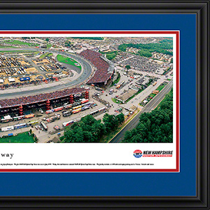 New Hampshire Motor Speedway with deluxe frame