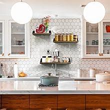 mensola a muro per cucina