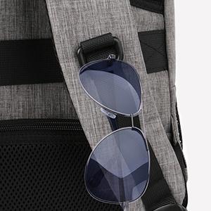 matein school bag backpack rucksack travel laptop backpack 15.6 with glasses hanging design