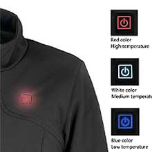 heating jacket women