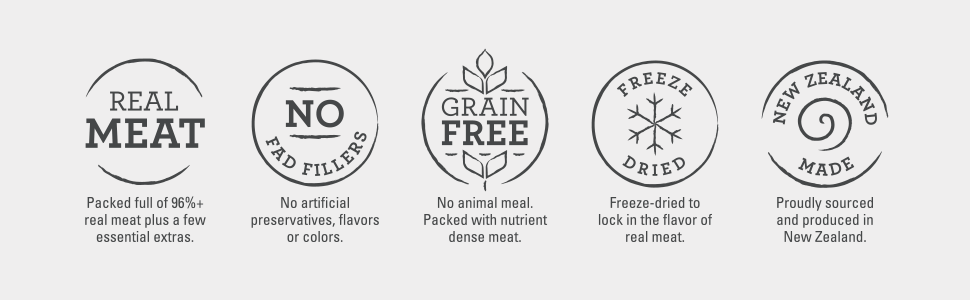 Grain Free, freeze dried dog boosters, high meat, low carbohydrates, GMO free, limited ingredients