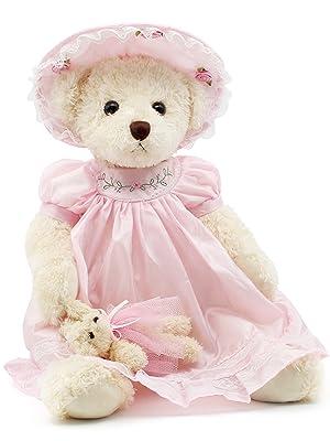 40 pink teddy bears