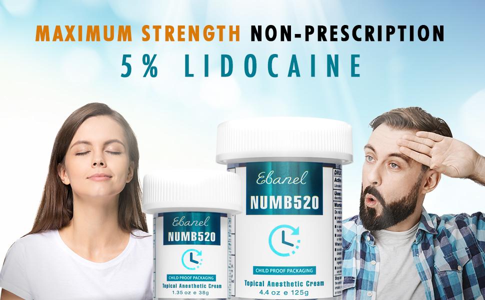 lidocaine numbing cream