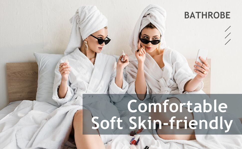 womens bathrobe