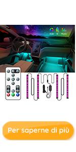Striscia led auto RGB