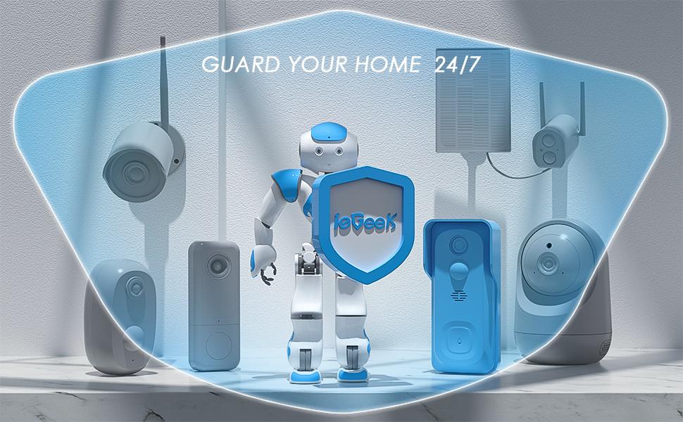 ieGeek security camera system