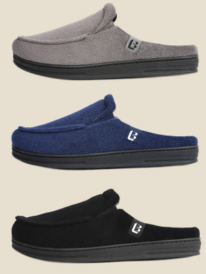 longbay slip on men slippers
