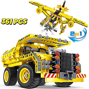 2in 1 Building set for boys age 8-12