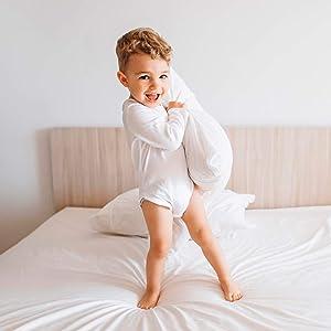 travel pillow toddler baby white pillowcases pillowcase small kids pillows sleeping infant organic