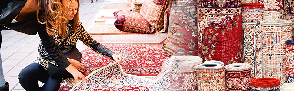 Hand picked quality rugs