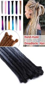 Dreadlock Hair Extensions