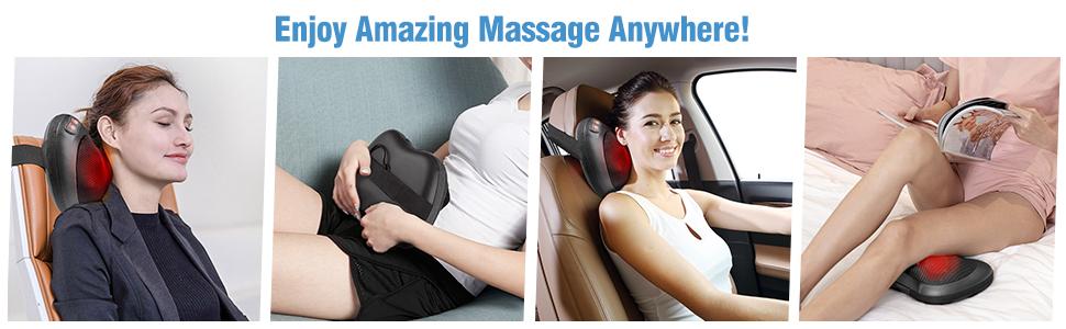 Neck back massager