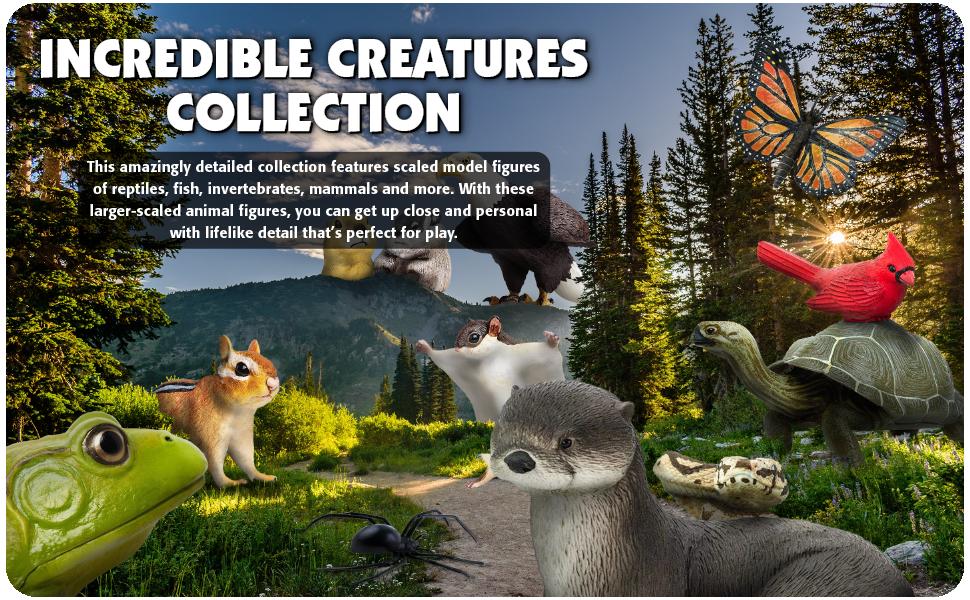 large, extra, huge, animals, toys, figures, decor, statue, safari, bugs, snakes