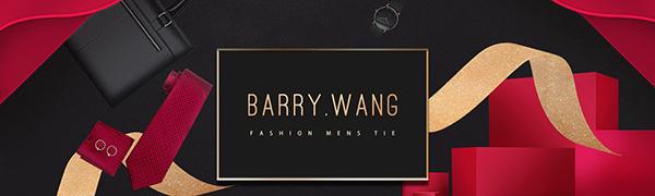 men's silk tie ser classic pocket square cufflinks clips gift set fashion