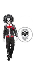 The Dead Mariachi Senor Costume - Men
