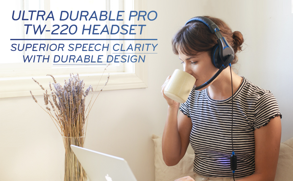 Ultra Durable Pro TW-210 Headset