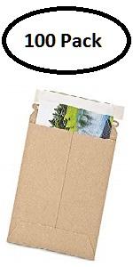 stay flat mailer shipping envelope