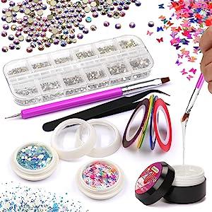 poly gel nail extension kit 06