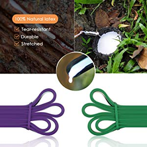 rubber exercise bands