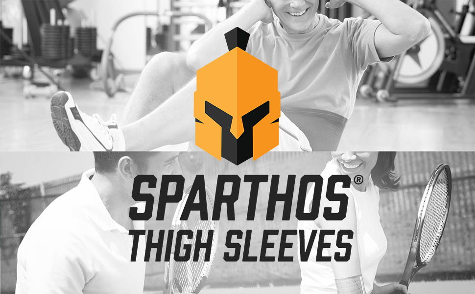 We created the Sparthos Thigh Compression Sleeves for perfect amount of thigh support