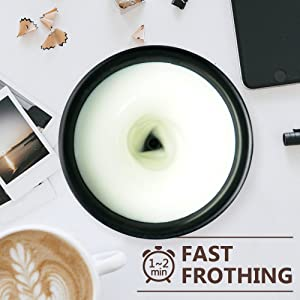 FAST FROTHING