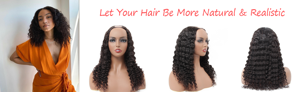 upart human hair wigs clip ins hair