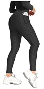 High Waist Yoga Pants for Women with Pockets
