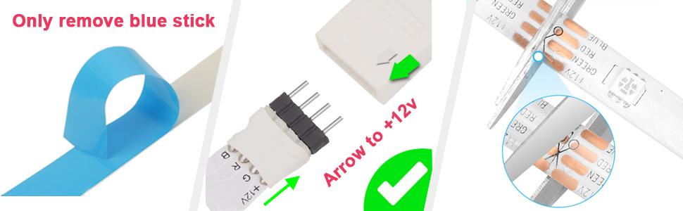 led strip light 16.4 ft rgb