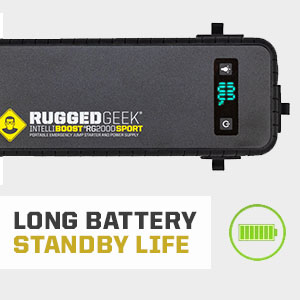 Long Battery Standby Life