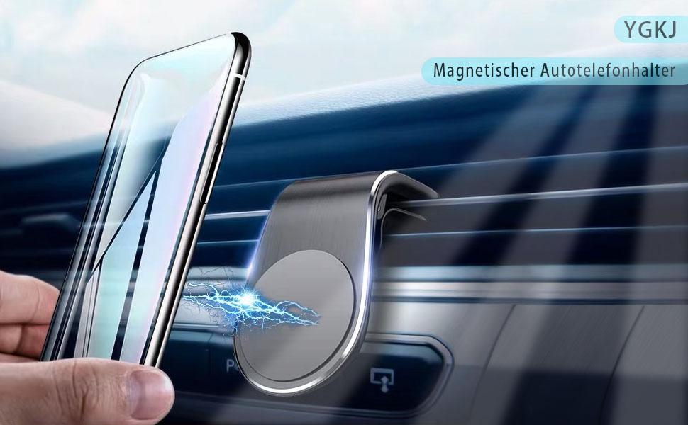 Ygkj Handyhalter Fürs Auto Magnet Kfz Handy Halterung Elektronik
