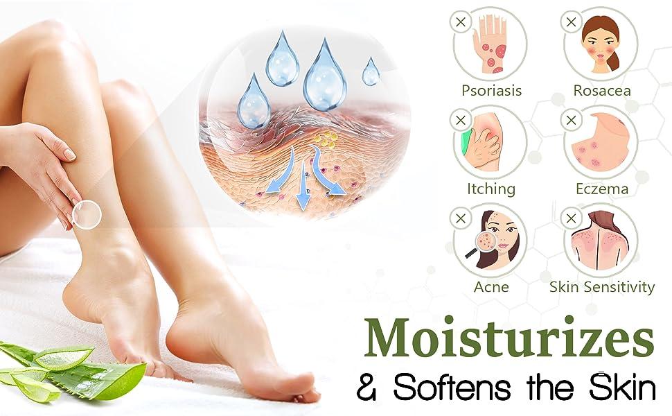 Organic Aloe Vera Moisturizing Cream