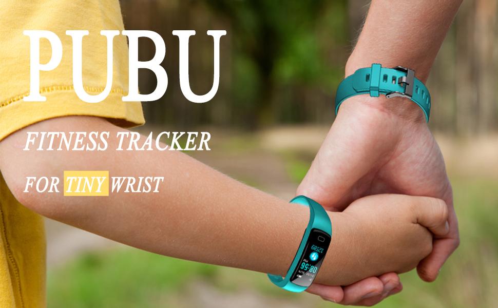 PUBU fitness tracker for tiny wrist's kid and felmale