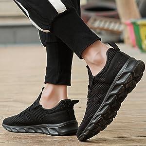 mens white walking sneakers