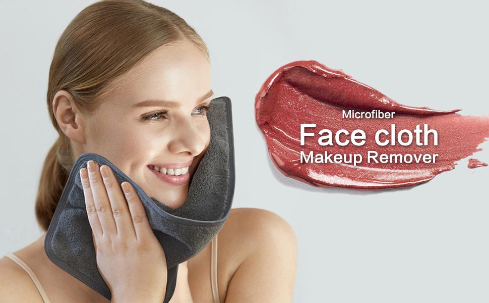 microfiber washcloth absorbent face cloths ultra soft facial cloths face towel