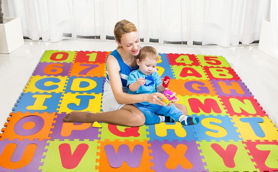 Kids Play Mat Foam Puzzle Floor Mat