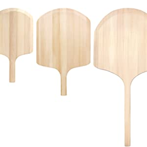 New Star Foodservice 50295 Wooden Pizza Peel, 14 x 16 Blade, 24