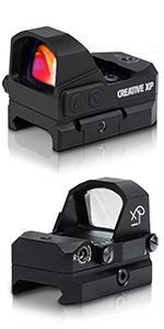 hd red dot sight for pistols glock