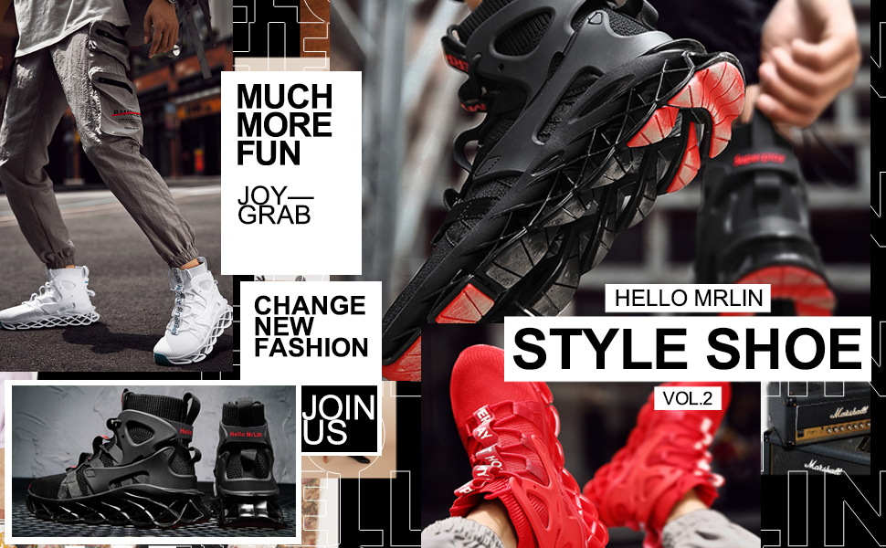 Men's Fashion Hip Hop Running Shoes