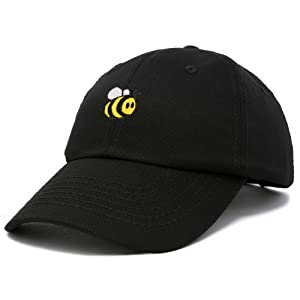H-Bumble-Bee Dad Cap 100% Cotton