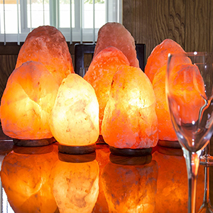 salt lamp cord with base