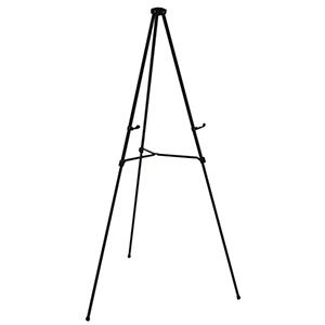 free standing aluminum lightweight adjustable easel