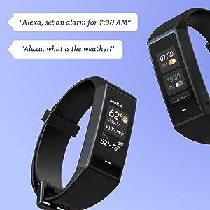 Alexa built in, alexa band, alexa watch, amazon alexa, wyze band