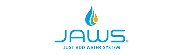 JAWS Cleaning Supplies, JAWS Cleans Logo