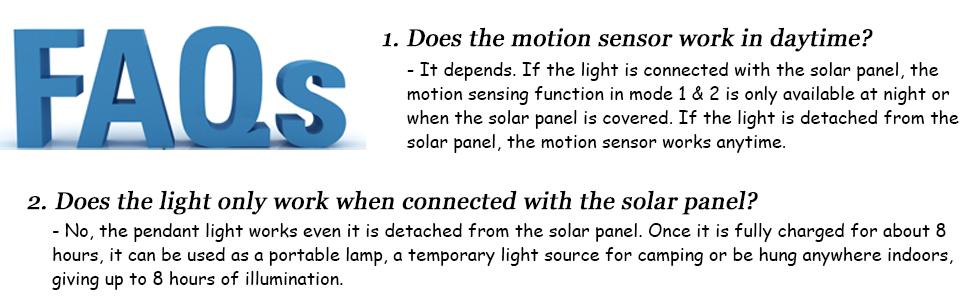solar pendant light fqas