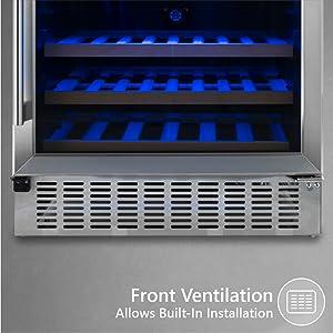 Front Ventilation