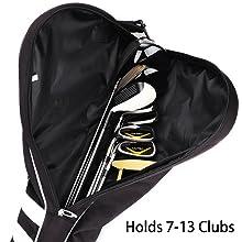mytag golf foldable carry bag